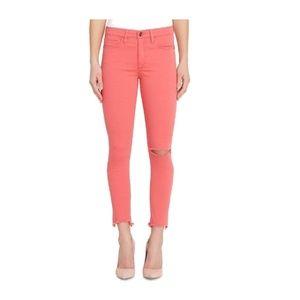 BUFFALO David Bitton Ripped Skinny Jeans Cayenne
